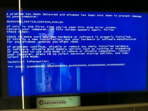 A Universal Language: Everyone, everywhere can read Microsoft Blue Screen.