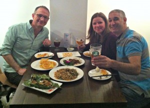 Brian, Jill and me at Southern Barbarian.  Amazing food, staff and atmosphere!