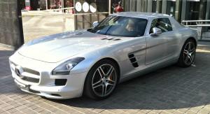 Mercedes Benz SLS AMG.