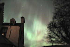 The Northern Lights from Scotland.