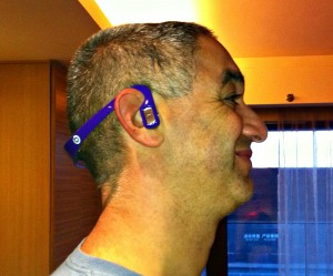 Beats By Dre knock off bluetooth headphones.