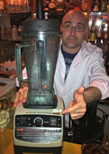 Martin and the Fakeamix Blender.