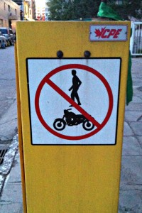 Stop segregating against motorcycle levitaters!