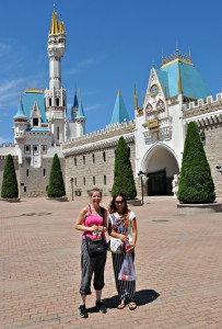 The castle entrance to the World Park!