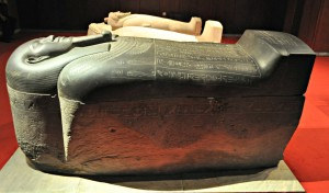 The beautiful sarcophagus.