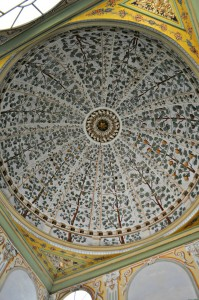 One of the many spectacular domes in the Harem.