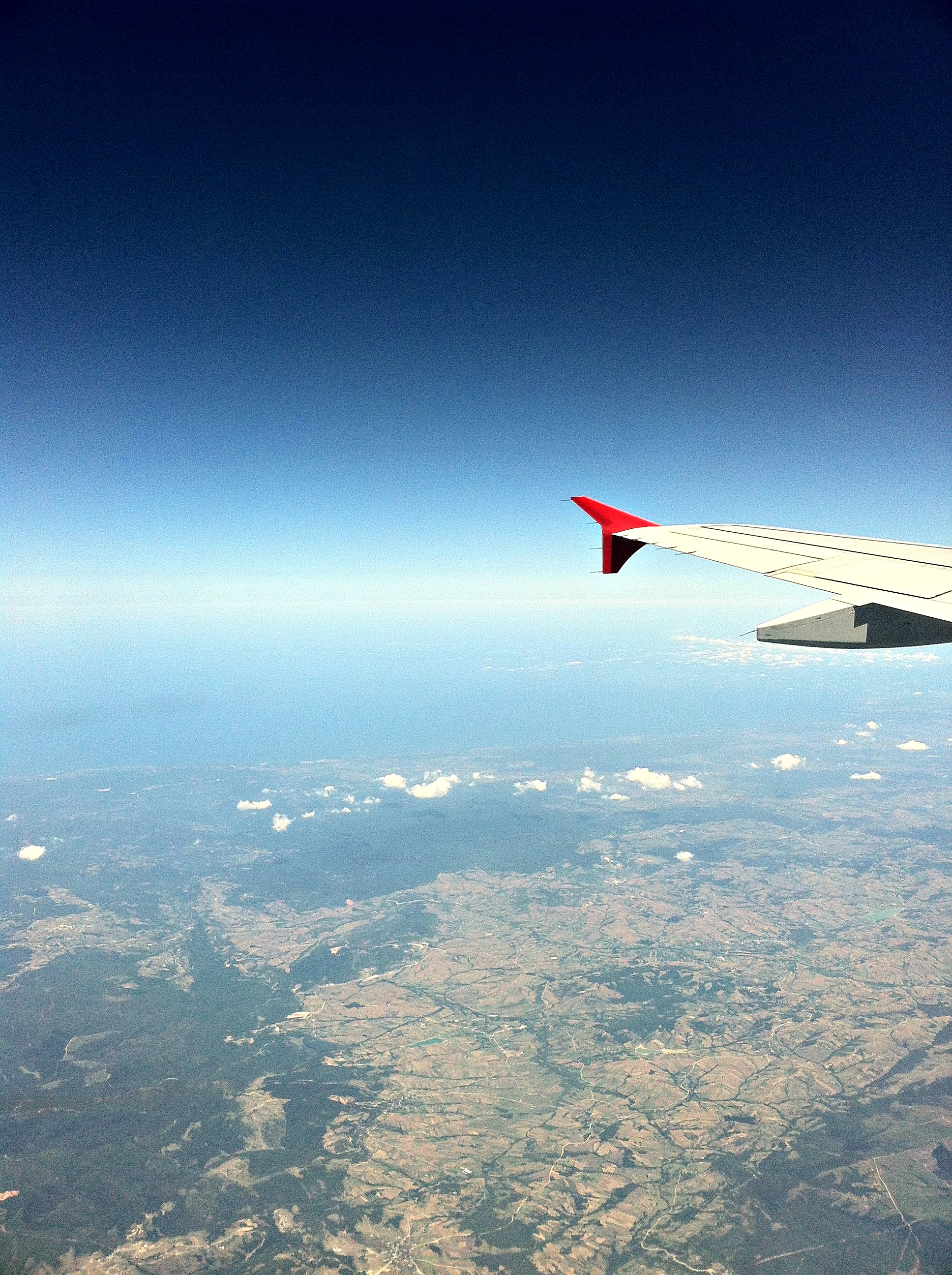 A few miles above Turkey.