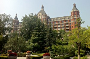 The Ritz-Carlton Hotel in TIanjin.