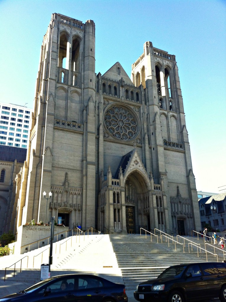 Grace Cathedral in all its glory.
