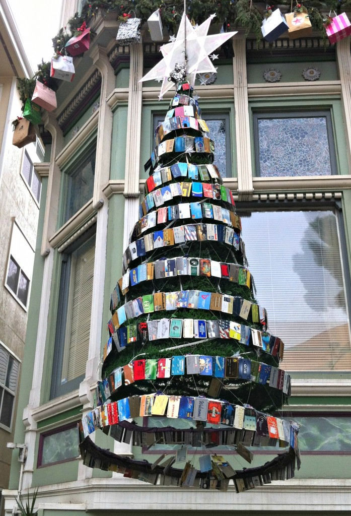 The credit card christmas tree.