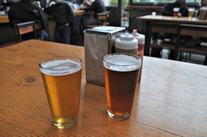Our refreshing beers at Southern Pacific Brewing.