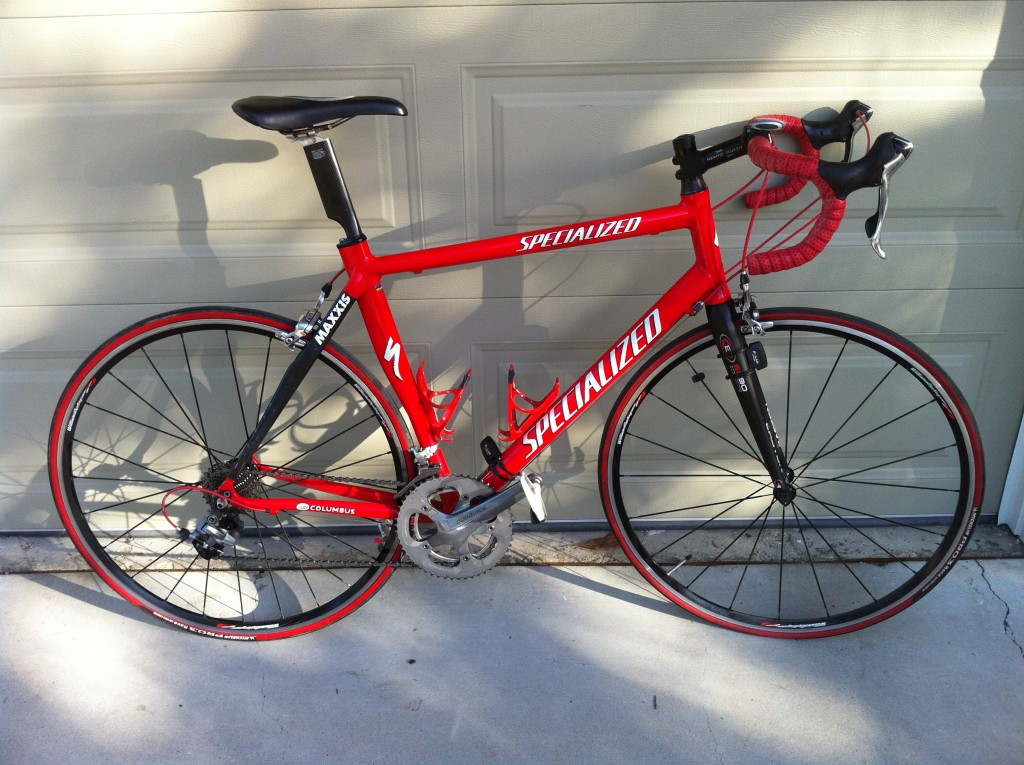 2005 Specialized Alumimun/Carbon frame with full Dura-Ace.  All upgraded carbon components.  $1100 or best offer.